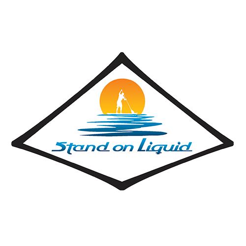 Stand On Liquid brand identity