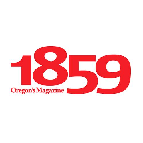 1859 Oregon's Magazine brnad identity