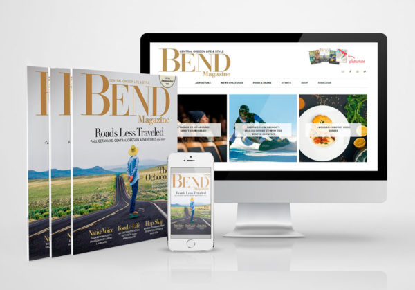 Bend Magazine branding and art direction