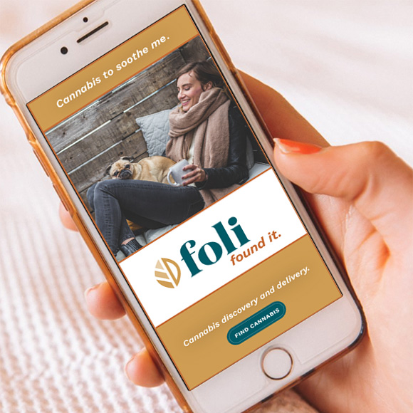 Foli digital advertising campaign