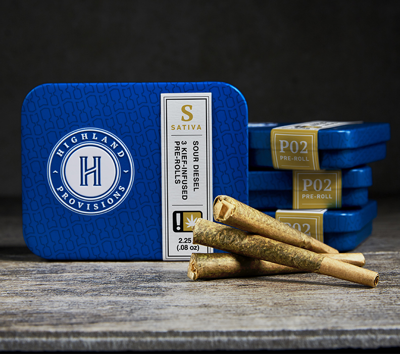 Highland Provisions branding and digital