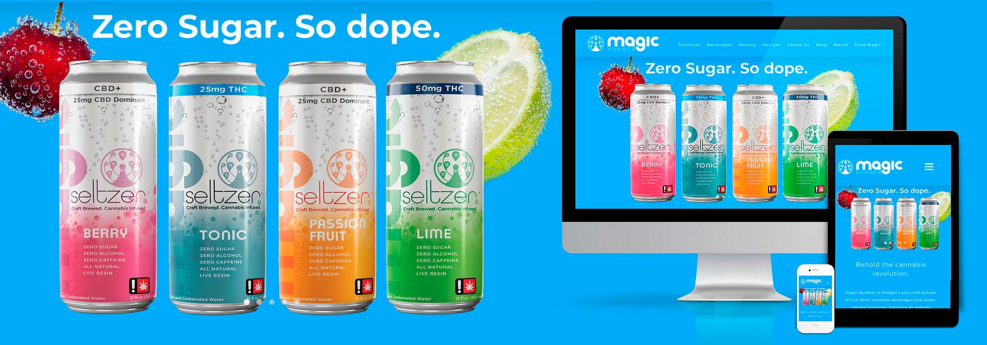 Magic Number website design