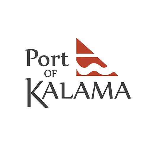 Port of Kalama brand identity