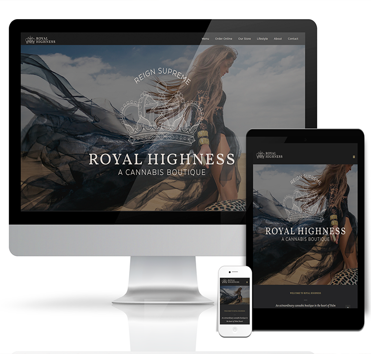 Custom estore design for Royal Highness