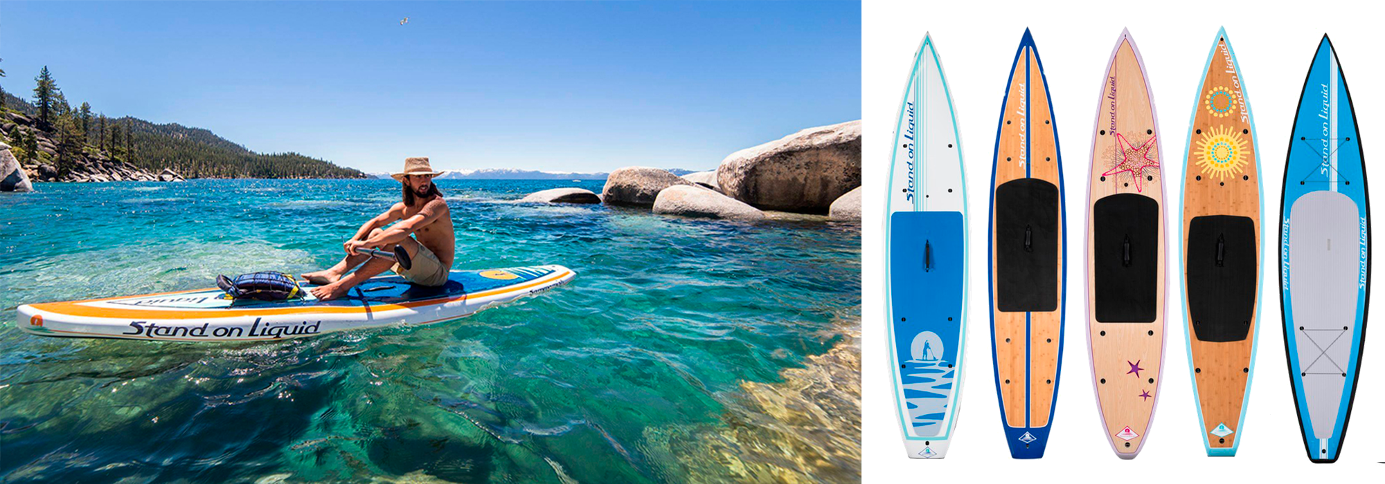 Stand on Liquid Paddleboard design