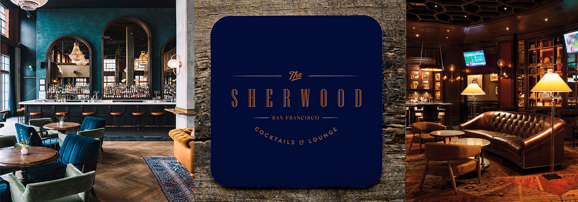 Brand design for The Sherwood San Francisco