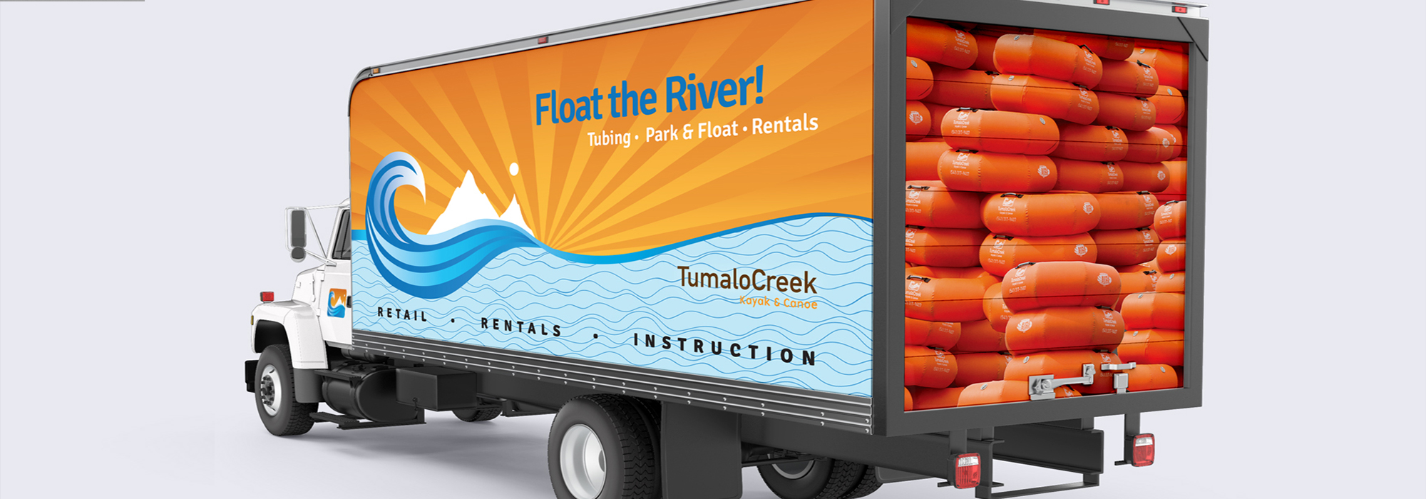 Launch graphics for Tumalo Creek Park & Float
