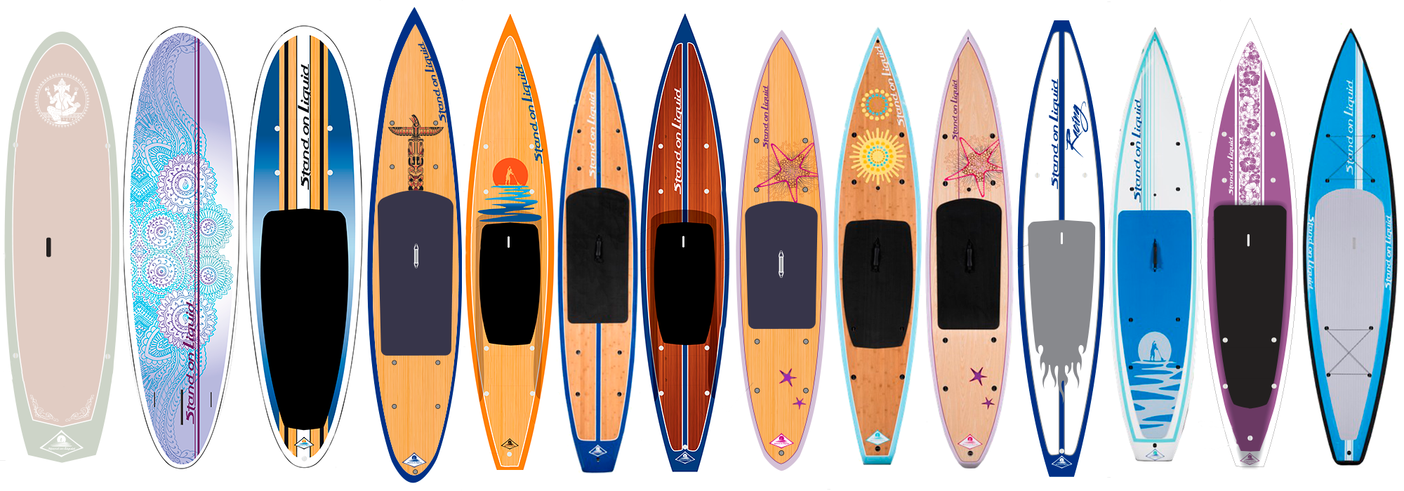 Stand on Liquid paddle board design Anouk Tapper