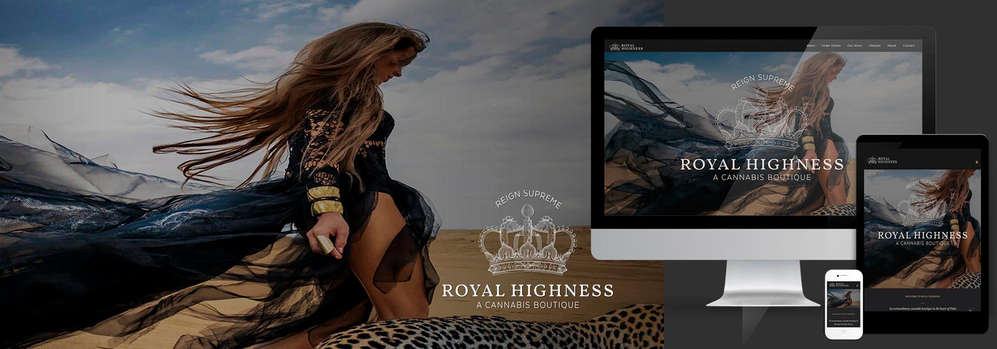 Royal Highness website design